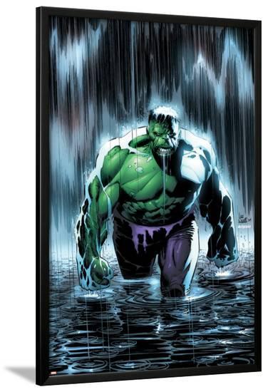 Incredible Hulk No.77 Cover: Hulk-Lee Weeks-Lamina Framed Poster
