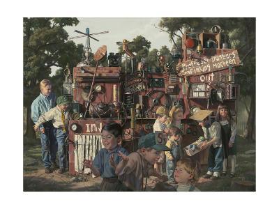 Incredible Shrinking Machine-Bob Byerley-Giclee Print