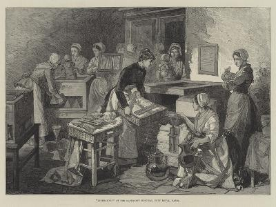 Incubators at the Maternity Hospital, Port Royal, Paris--Giclee Print