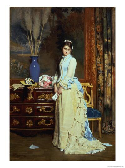 Indecision-Charles Baugniet-Giclee Print