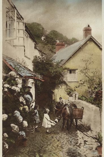 Independant Street, Clovelly, Devon--Photographic Print
