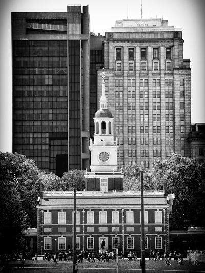 Independence Hall and Pennsylvania State House Buildings, Philadelphia, Pennsylvania, US-Philippe Hugonnard-Photographic Print
