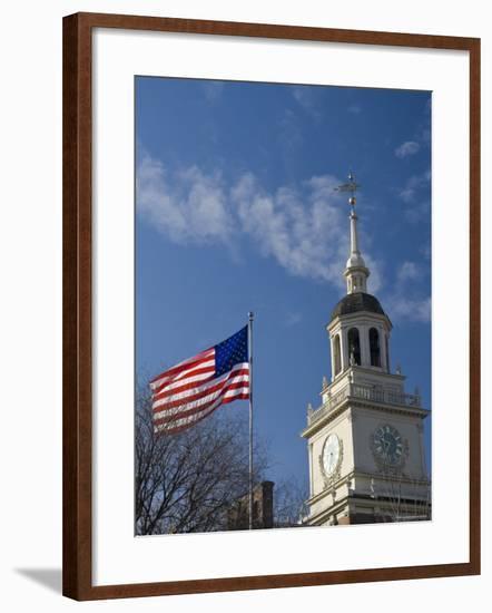 Independence Hall, Philadelphia, Pennsylvania, USA-Alan Copson-Framed Photographic Print