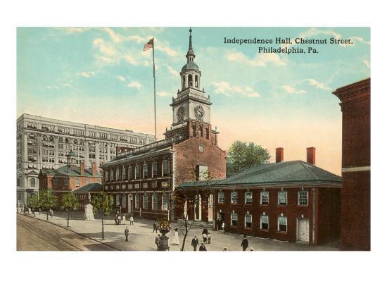 Independence Hall, Philadelphia, Pennsylvania--Art Print