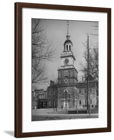 Independence Hall--Framed Photographic Print