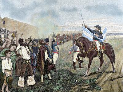 Independence of Argentina. Manuel Belgrano (1770-1820)-Prisma Archivo-Photographic Print