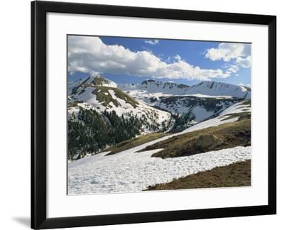 Independence Pass in the Sawatch Mountains, Part of the Rockies, in Aspen, Colorado, USA-Westwater Nedra-Framed Photographic Print