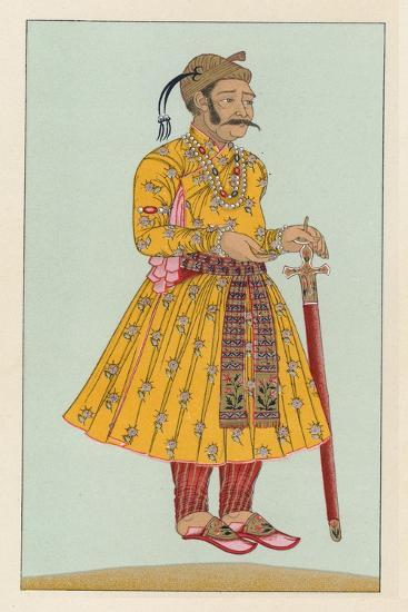 India Costume-French School-Giclee Print