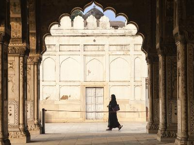 India, Delhi, Old Delhi, Red Fort, Diwan-i-Khas- Hall of Private Audience-Jane Sweeney-Photographic Print