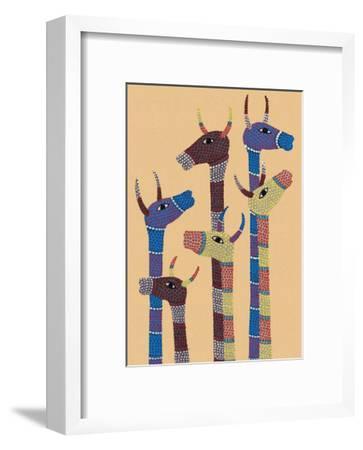 India Folk Art, Giraffes