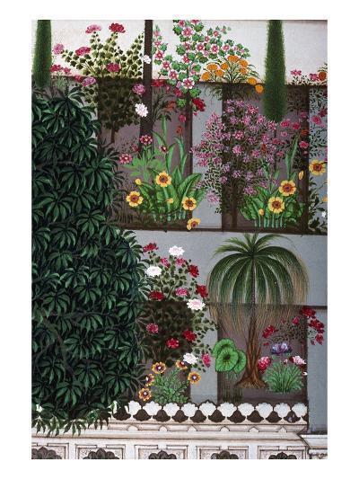 India: Garden--Giclee Print