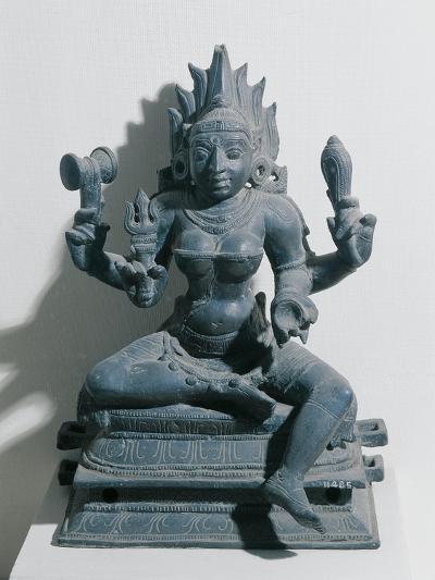 India, Kali, Hindu Goddess, Bronze Statue--Giclee Print