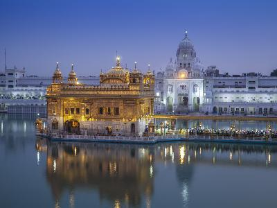 India, Punjab, Amritsar, the Harmandir Sahib,  Known As the Golden Temple-Jane Sweeney-Photographic Print
