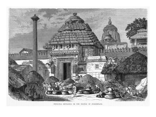 India Puri Jaganath--Giclee Print