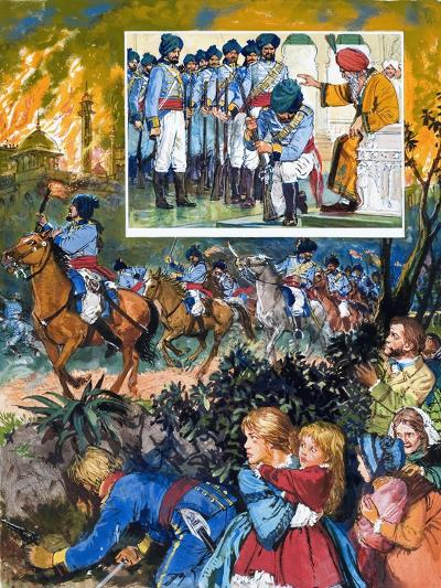 India: The Sikh Wars-C.l. Doughty-Giclee Print