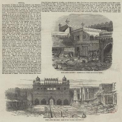 India--Giclee Print