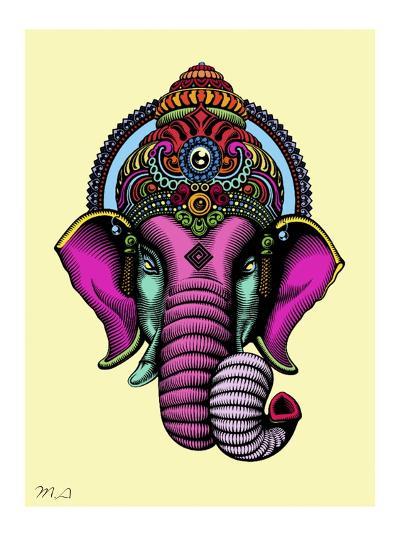 India-Mark Ashkenazi-Giclee Print