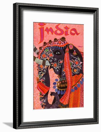 India-David Klein-Framed Premium Giclee Print