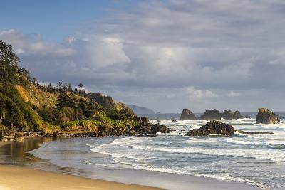 Indian Beach at Ecola State Park in Cannon Beach, Oregon, USA-Chuck Haney-Photographic Print