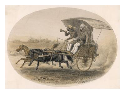 Indian Carriage--Giclee Print
