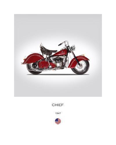 Indian Chief 1947-Mark Rogan-Giclee Print