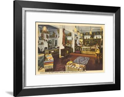 Indian Crafts, Albuquerque, New Mexico--Framed Art Print
