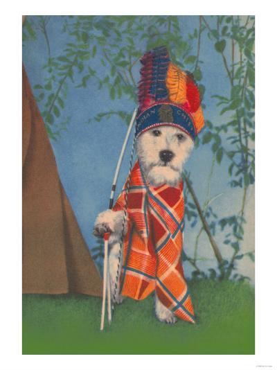 Indian Dog--Art Print