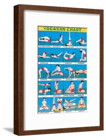 Indian Educational Chart - Yoga Chart