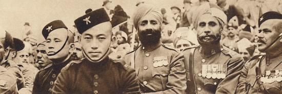 'Indian Heroes', 1937-Unknown-Photographic Print