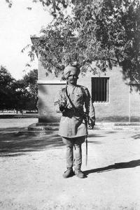 Indian Lancer, Mathura, India, 1916-1917