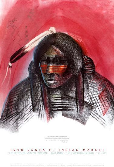 Indian Market, 1998-Allan Houser-Art Print