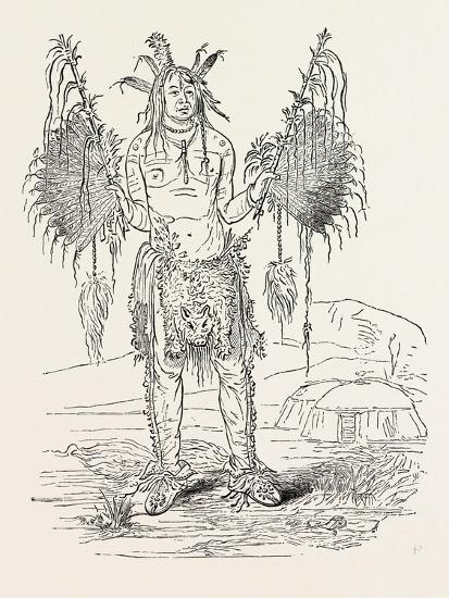 Indian Medicine Man, USA, 1870s--Giclee Print