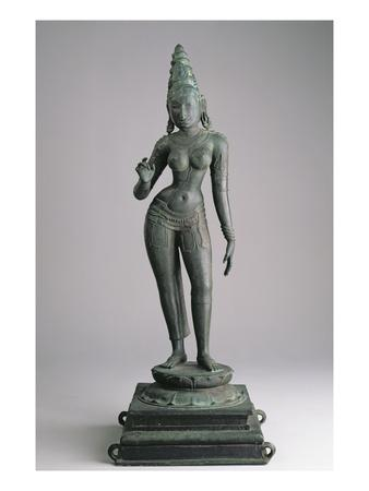 Parvati, Consort of Siva, Indian, 13th Century (Bronze)