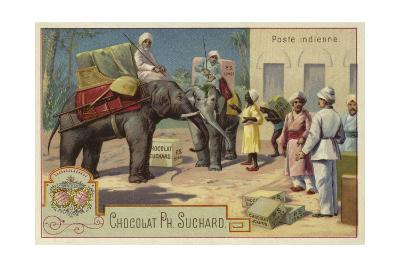 Indian Postal Service--Giclee Print
