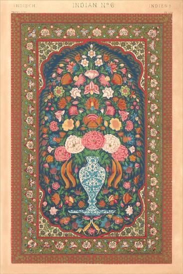 Indian Rug Pattern--Art Print