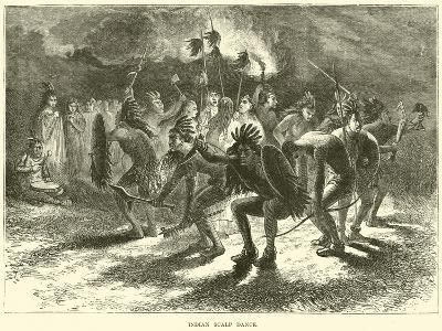 Indian Scalp Dance--Giclee Print