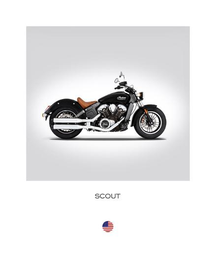 Indian Scout 2016-Mark Rogan-Giclee Print