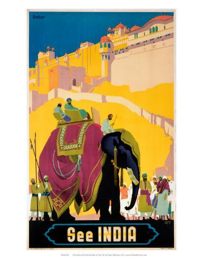 Indian State Railways: See India--Art Print