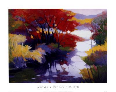 Indian Summer-Tadashi Asoma-Art Print