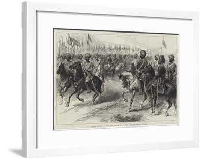 Indian Troops Ordered for Service in Europe, the 9th Bengal Cavalry--Framed Giclee Print