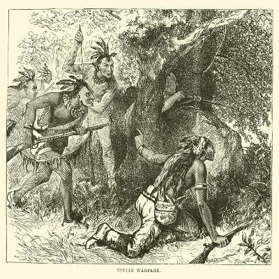 Indian Warfare--Giclee Print