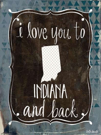 Indiana and Back-Katie Doucette-Art Print