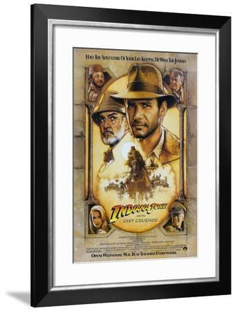 Indiana Jones and the Last Crusade--Framed Art Print