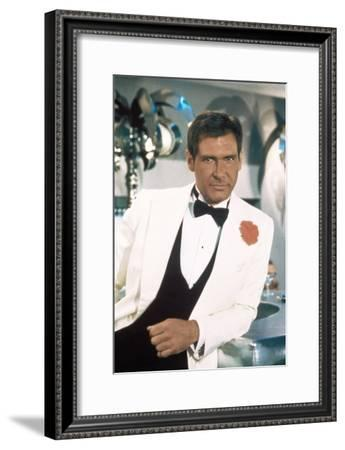 Indiana Jones and the Temple of Doom 1984 Directed by Steven Spielberg Harrison Ford--Framed Photo