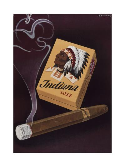 Indiana Luxe-Marcus Jules-Giclee Print