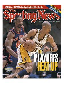 Indiana Pacers' Reggie Miller - June 5, 2000