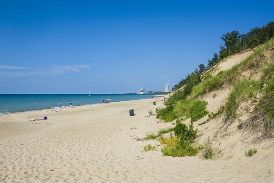 Indiana Sand Dunes, Indiana, United States of America, North America-Michael Runkel-Photographic Print