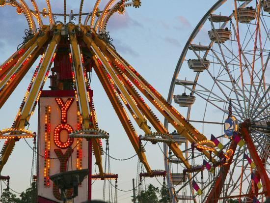 Indiana State Fair, Indianapolis, Indiana, Usa Photographic Print by Anna  Miller | Art com