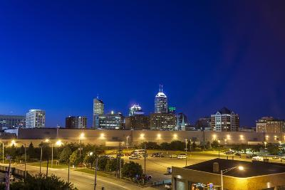 Indianapolis Downtown, Indiana, Usa-Sopotniccy-Photographic Print