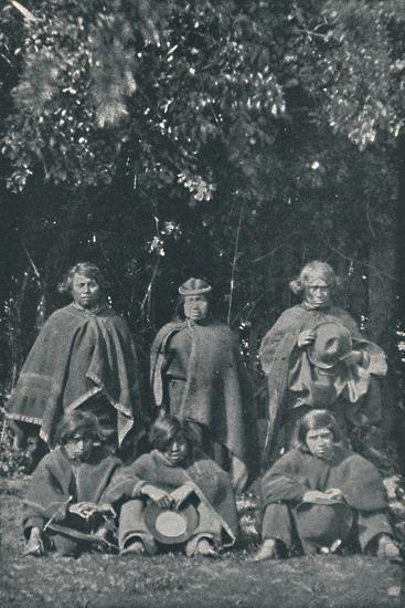 'Indians from the Island of Chiloe', 1916-Unknown-Photographic Print